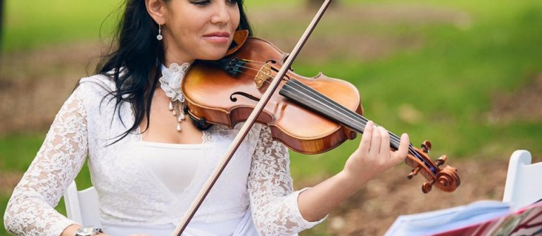 "Violinist Gulia:  ""Any Music for any Wedding!"""