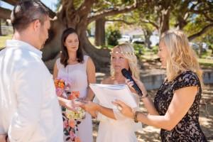 Wedding band exchange